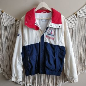Columbia Vintage Fleece Colorblock Windbreaker M